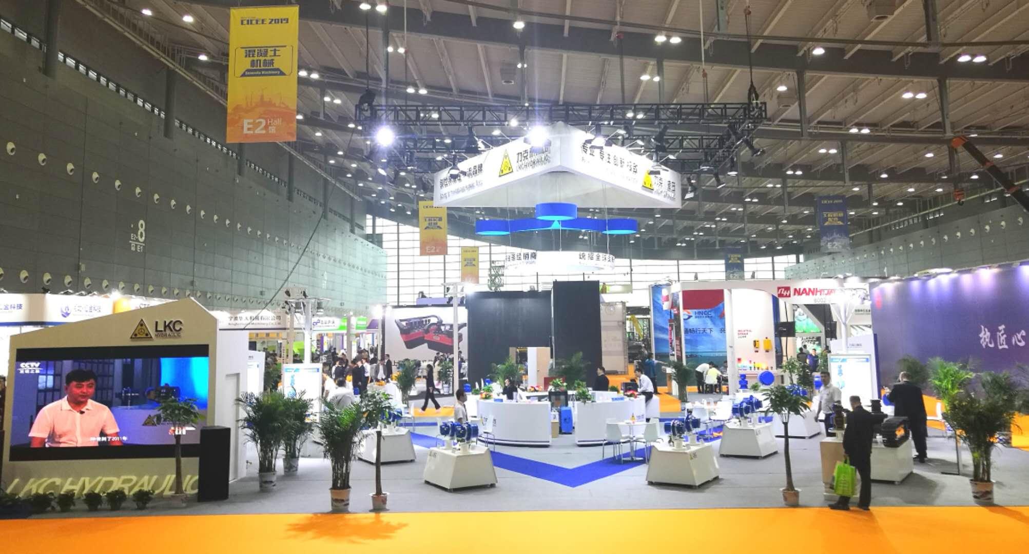 力克川携28款产品亮相2019长沙国际工程机械展